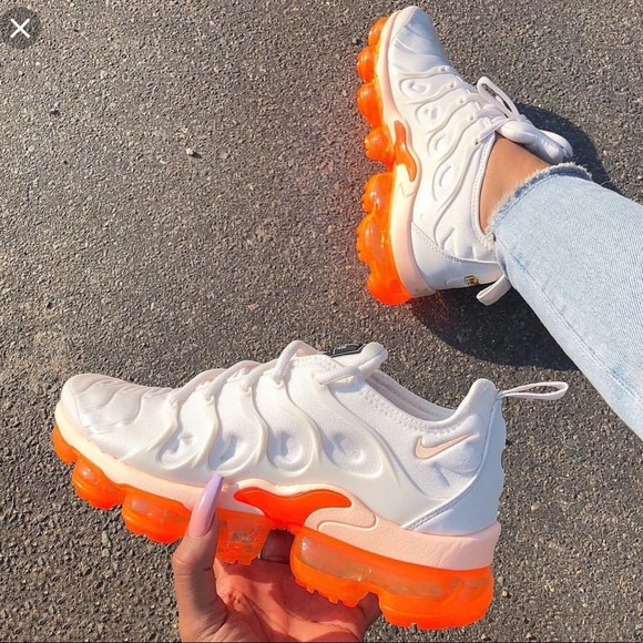 Nike Shoes | Creamsicle Vapormax Plus
